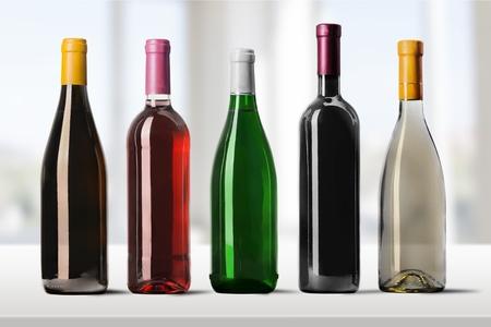 botella champagne: Botella de vino.