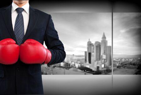 pelea: Boxeo.  Foto de archivo