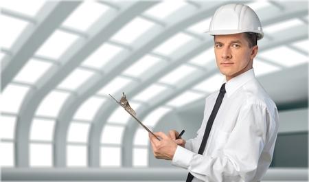signing authority: Engineer. Stock Photo