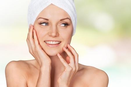 beauty face: Spa Treatment.