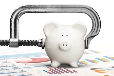 vise grip: Cheap. Stock Photo