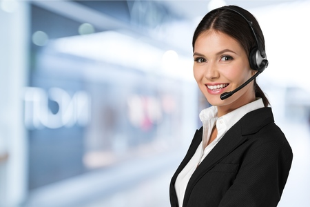 Operator. Stock Photo