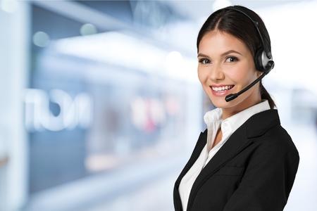 operator: Operator. Stock Photo