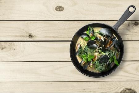 nether: seafood Stock Photo