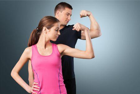 sports wear: Fitness. Stock Photo