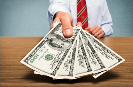 salarios: Salario. Foto de archivo