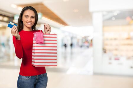 commercial activity: Shopping.