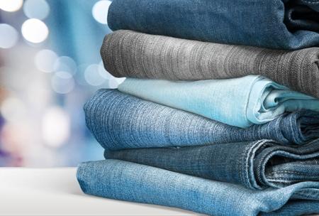garments: Jeans.