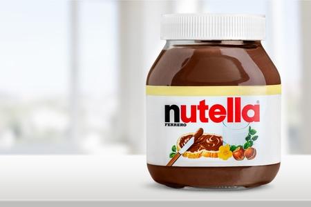 frasco: Nutella. Editorial