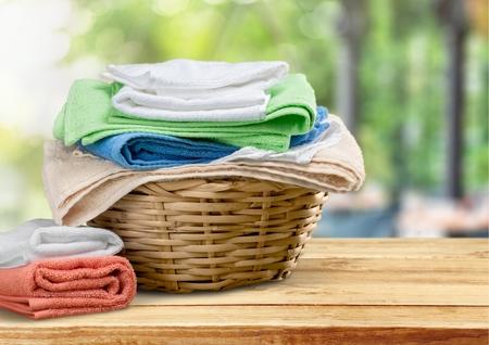 folded: Laundry.