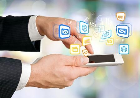 kommunikation: Kommunikation. Stockfoto
