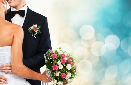 groom and bride: Wedding.