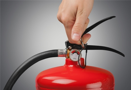 work safety: Fire Extinguisher.