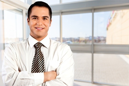 males only: Businessman. Stock Photo