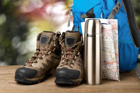 ハイキング。 写真素材