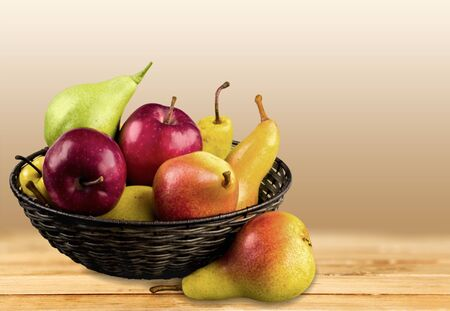 descriptive colors: Pear. Stock Photo