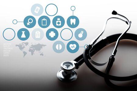 medycyna: Opieki zdrowotnej i medycyny. Zdjęcie Seryjne