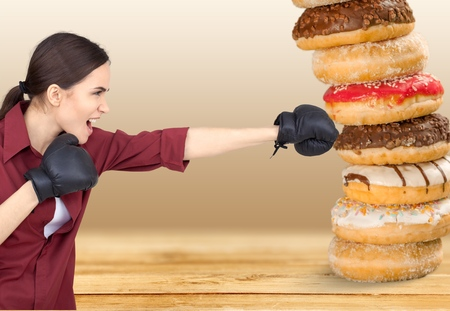 Donut. Stock Photo