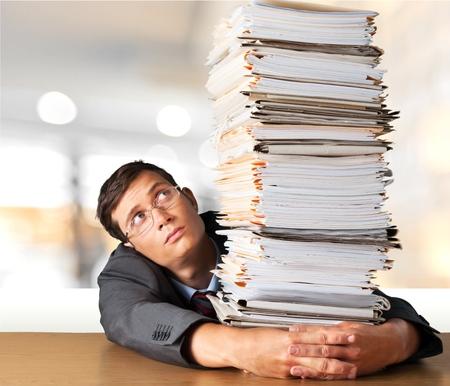 file clerk: Stack.