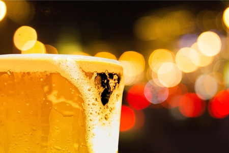 Beer.
