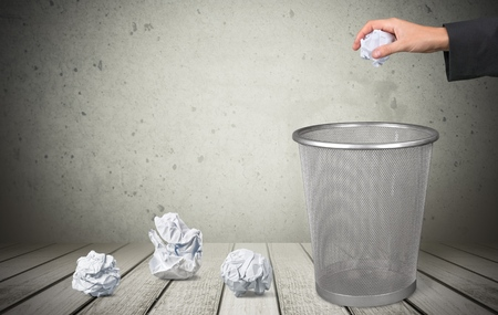 wastepaper: Garbage.
