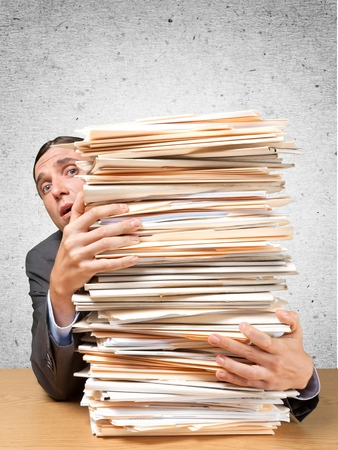 technophobe: Folders.