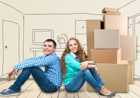 married couples: Moving House.