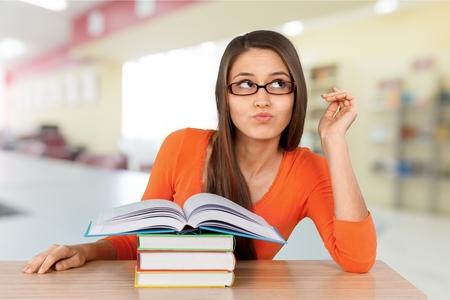 student: Estudiante universitario. Foto de archivo
