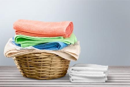 laundromat: Cleaning. Stock Photo