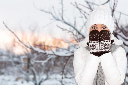 in winter: Inverno.