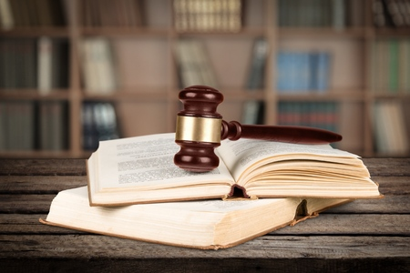 gavel: Law.