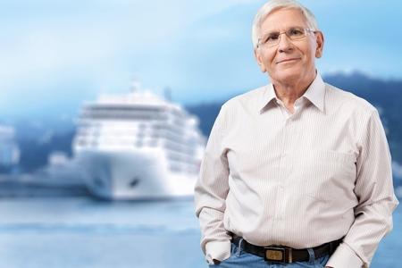 senior men: Portrait of a senior man Stock Photo