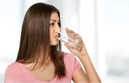 acqua bicchiere: Acqua. Archivio Fotografico