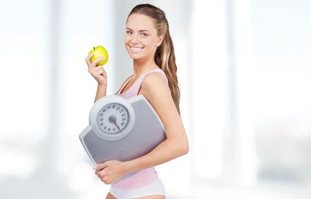 Dieting. Reklamní fotografie