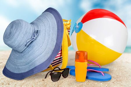 beach towel: Vacations.