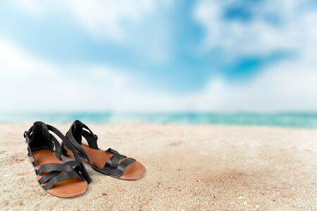 sandal: Sandalia. Foto de archivo