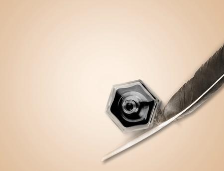 pluma blanca: Pluma pluma.