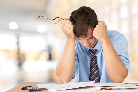 pagando: Estrés.