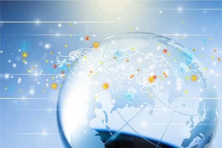 földgolyó: Globe. Stock fotó