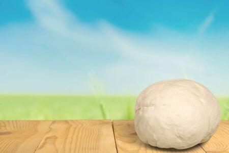 dough: Masa. Foto de archivo