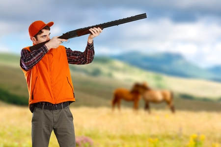 duck hunting: Hunting.