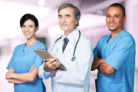 nursing home: Nurse.