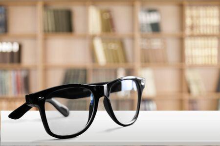 bifocals: Glasses.