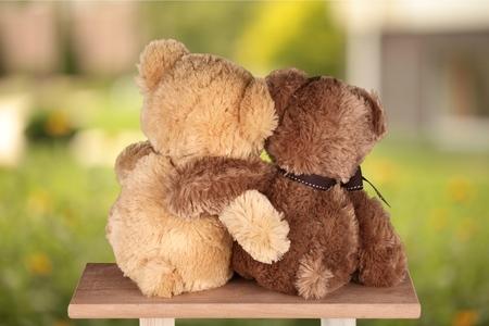 oso de peluche: Oso de peluche. Foto de archivo