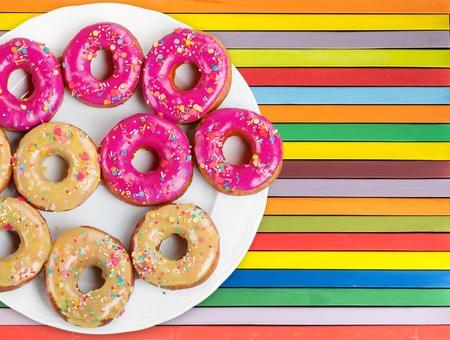 donut shape: Donuts.