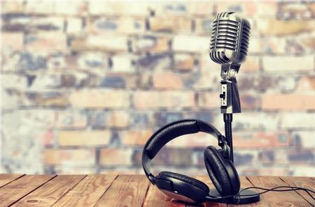 vintage radio: Radio.