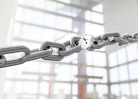 break chain: Chain.