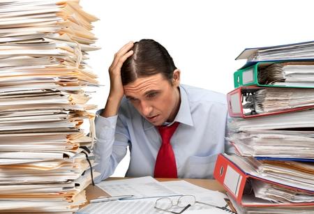 file clerk: Paperwork.