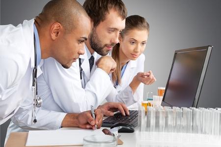 scientific research: Laboratory.