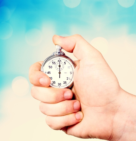 stopwatch: Stopwatch. Stock Photo